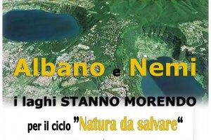 """SOS laghi """"Albano"""" e """"di Nemi"""" - webinar gratuiti"""